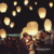 25pcs/lot Party SKY Balloon Kongming wishing Lanterns Flying Light Halloween Lights,Chinese kongming lanterns Free shipping