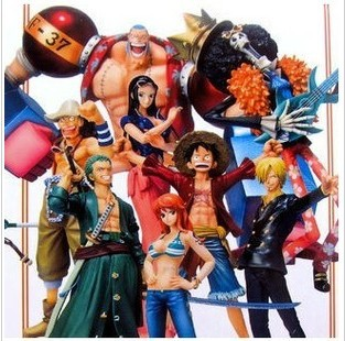 One Piece New World after two years full Luffy Zoro Chopper hand to do a set of nine ZERO hand model