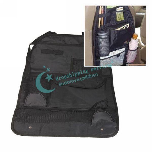 Car Auto Back Seat Hanging Organizer Collector Storage Multi Pocket Hold Bag Drop shipping/Free Shipping Wholesale(China (Mainland))
