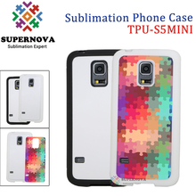 Soft Silicone Sublimation Product Design Mobile Phone Cover for Samsung Galaxy S5 Mini