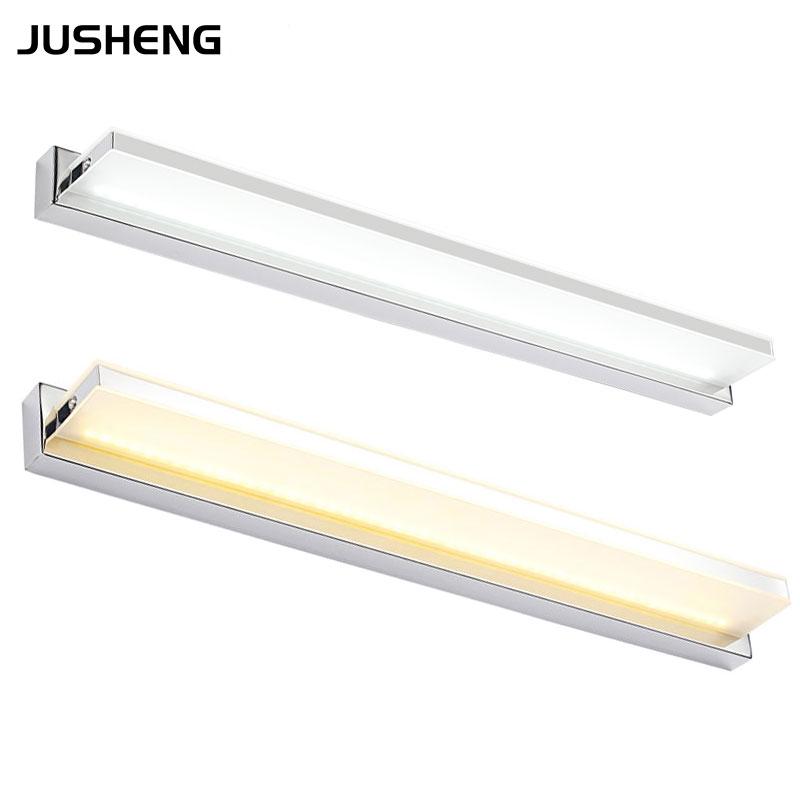 New novelty 12W 72cm Super LED Bathroom Mirror-front wall Light lamps indoor surface Cabinet Linear Bar lights AC 110v / 220v<br><br>Aliexpress