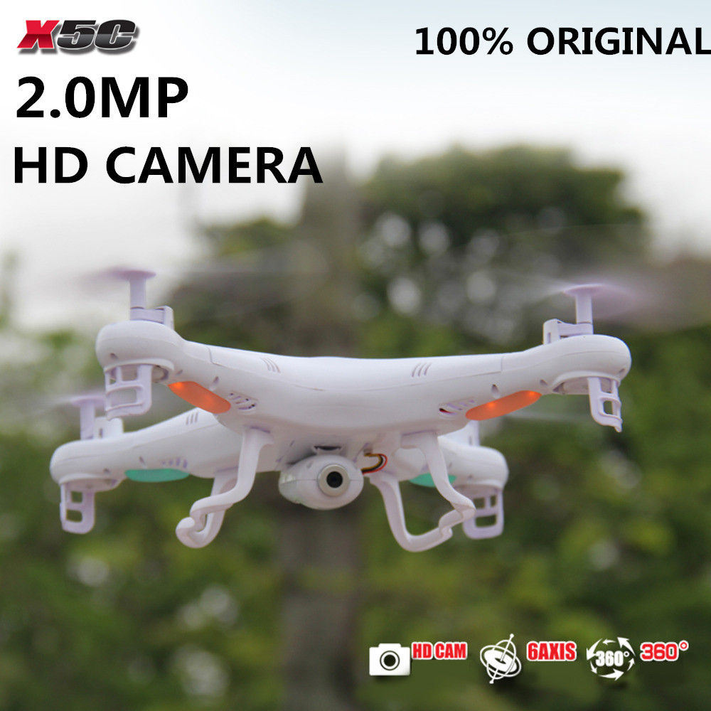 Original SYMA X5C 2.4G 4CH 6-Axis 2.0MP HD Camera RTF Remote Control Quadcopter
