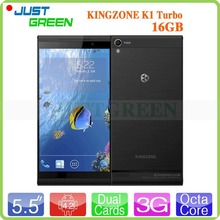 5.5 Inch 1920×1080 Kingzone K1 Turbo Android Smartphone MTK6592 Octa Core 1.7GHz 2GB RAM 16GB ROM 14.0MP Camera Dual SIM NFC GPS
