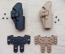 High Quality Tactical  Military Army Airsoft  Fit Chest Waist  leg paddle Molle holster Glock 17 holster Glock 22 31 right hand