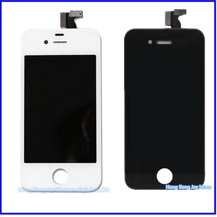 Wholesale 10 Pcs/lot For iPhone 4S LCD Display Digitizer Screen For iPhone 4S Replacement Parts LCD For iPhone 4s(China (Mainland))