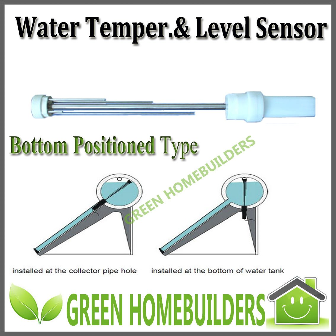 Water Temperature &Level Sensor for solar water heater controllers #446D1A