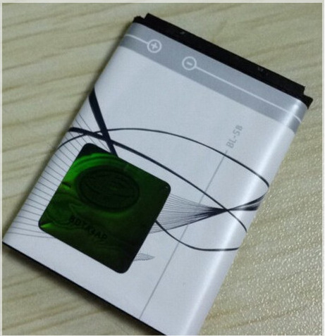 Battery BL-5B BL 5B BL5B Mobile Phone Accessories Rechargeable For Nokia N80 N83 6120 6021 5300 5208 5140 6020(China (Mainland))
