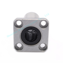 4pcs 3D printer CNC parts LMK12LUU 12mm bearing square flange long linear ball bearing match linear