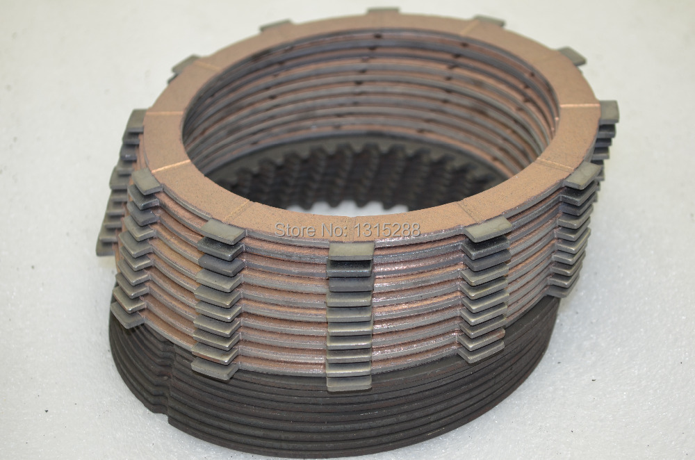 Friction Disc Material : Refit highest quality clutch drive steel plates kit
