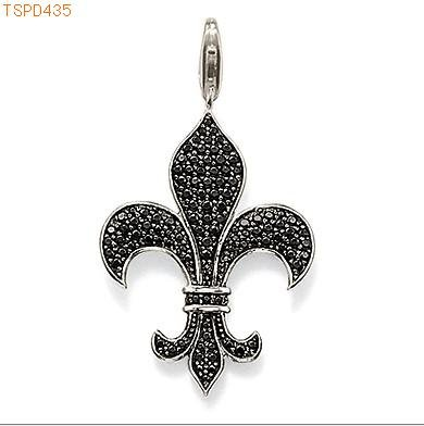 free shipping wholesale bourbon fleur de lis charms 925