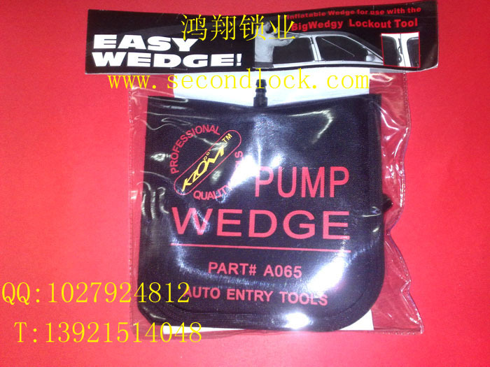 KLOM PUMP WEDGE Air Wedge LOCKSMITH TOOL Padlock Tool.Lock Pick Set(China (Mainland))