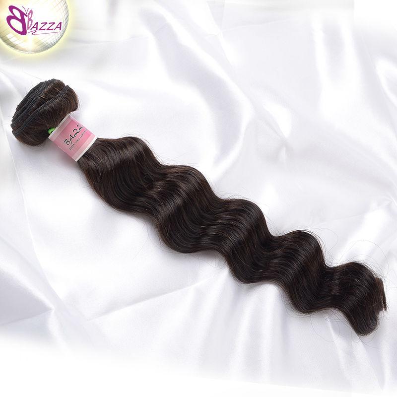 BAZZA 6a brazilian virgin hair loose wave 1 bundle unprocessed human hair weave kbl new brazilian loose wave virgin hair(China (Mainland))