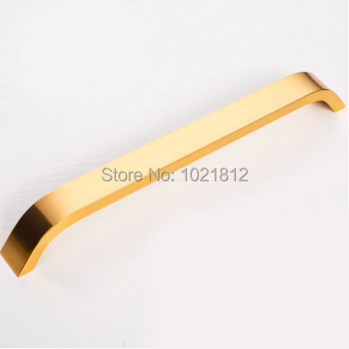 192mm Golden Solid Space Aluminum Cabinet Handle Cupboard Drawer Kitchen Handles Pulls Bars<br><br>Aliexpress