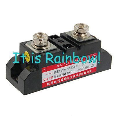 Здесь можно купить  Free Shipping DC to AC HHG1C-1 150A 1200V AC 3-32V DC SSR Solid State Relay  Инструменты