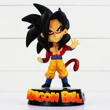 Anime Dragon Ball Z Super Saiyan PVC Action Figure Son Goku Toy 16CM for children