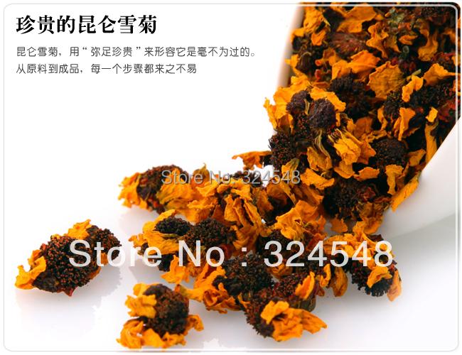 250g Snow Daisy Chrysanthemum flower Tea,Kunlun Mountain Chrysanthemum blossom scented tea,Help Lower Blood Pressure(China (Mainland))