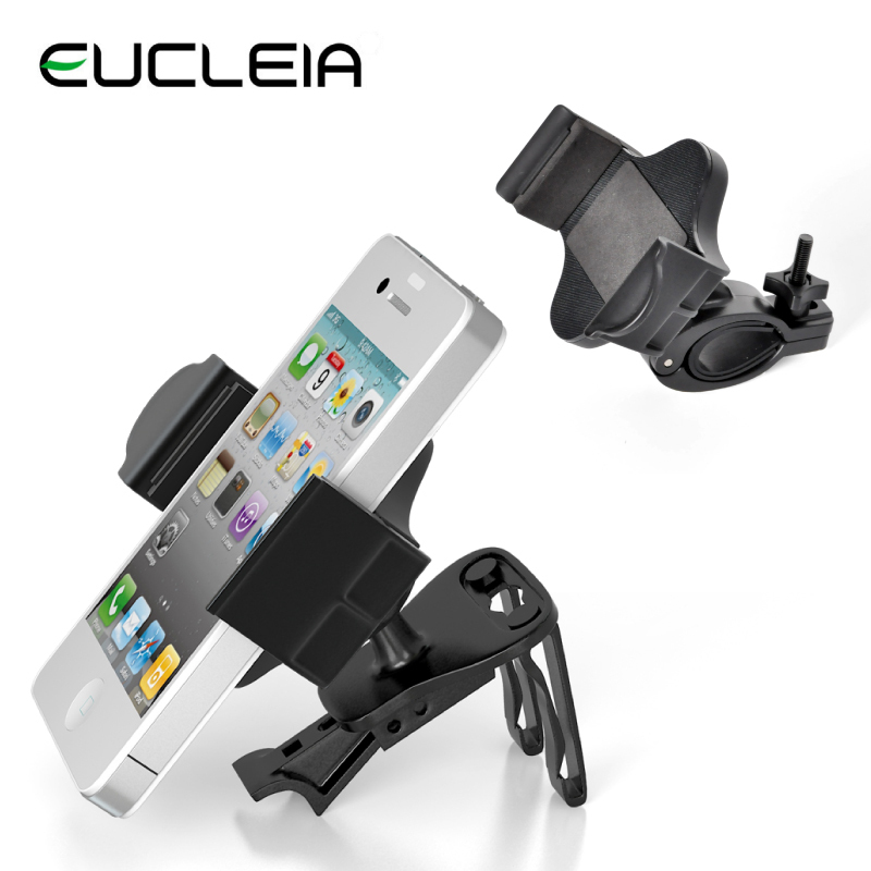 Car Cell Phone Air Vent Mount Holder For iPhone6 5s 5 4s Samsung Smartphones Mount Bracket S4 S3 Bike Mount Base Non-slip(China (Mainland))