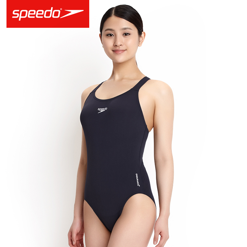 Speedo Women's Essential Endurance+ Medalist Swimsuit Training Swimwear One-piece Aquatic Moderate Competition Swim Suit(China (Mainland))