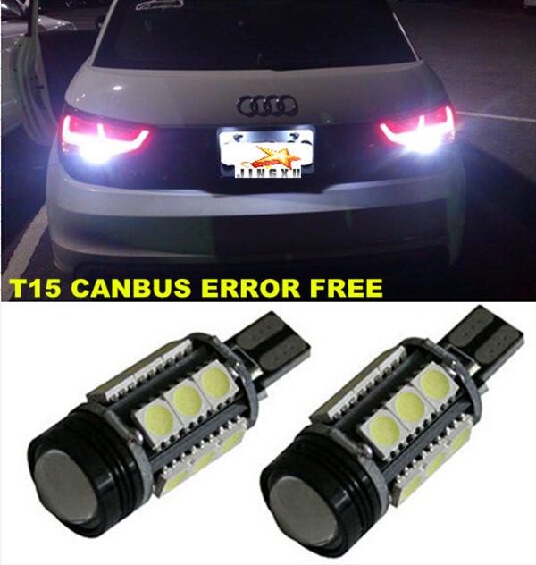 Audi S4 S5 S6 S8 B5 B6 B7 B8 C4 C5 C6 C7 D3 D4 Canbus Error Free T15 W16W 921 912 Car LED Lights Backup Reverse Tail Bulb - ShengZheng JINGXU Electronic Technology Co., Ltd. store