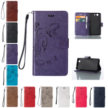 Buy Case Sony Xperia Z 3 Compact Z3 mini D5803 D5833 M55W Solid Color Butterfly Flip Phone Leather Cover Sony Xperia Z3mini for $4.13 in AliExpress store