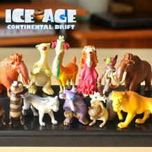 12pcs/lot ICE AGE 5 Action Figure Model Toys PVC Doll Anime Brinquedos Kids toys 3~5cm