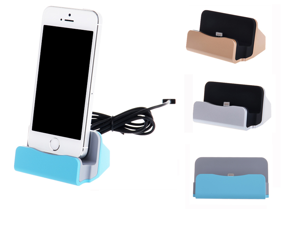Universal Station Sync Charging Dock Charger Stand Cradle Phone Holder For iPhone 6S 6 Plus SE 5S 5C 5 IPad Air mini 4 3(China (Mainland))
