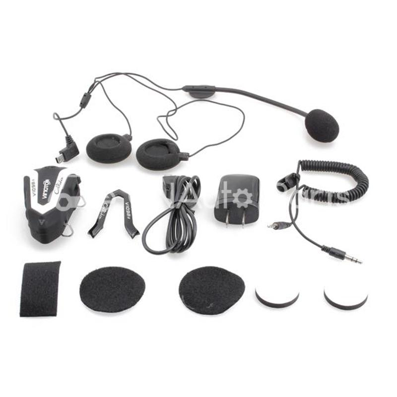 Vimoto Motorcycle Helmet Headset V1098a Waterproof Bluetooth Headphone Stereo Intercom - CN Auto Parts store