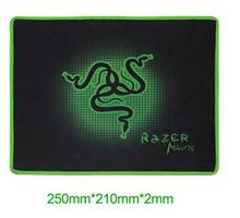 Razers 250*210*2mm Mantis Gaming Game Mouse Pad Mat Speed Edition Medium locking Edge Mouse Mat Speed Version(China (Mainland))