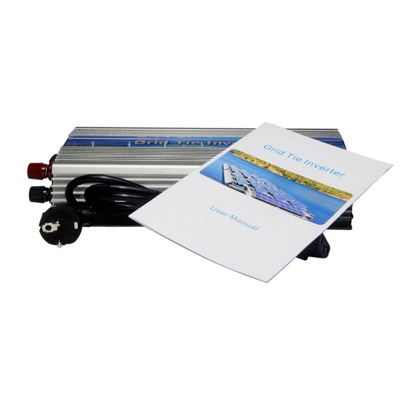 MAYLAR@ 10.5-30v 1000W High Frequency Pure Sine Wave Solar Grid Tie Inverter, Output 180-260V.For Vmp18V panels(China (Mainland))