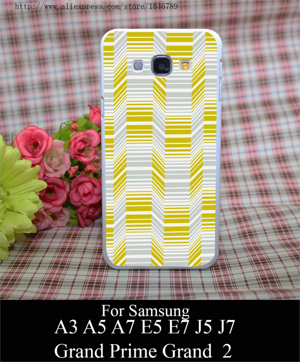 95635W Delineate Citron Style White Hard Case Cover for Samsung A3 A5 A7 A8 E5 E7 J5 J7 Grand Prime G530 Grand 2(China (Mainland))