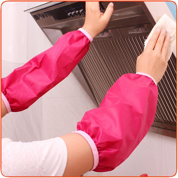 Dustproof and waterproof sleeve short sleeves, long sleeved cotton PVC sleeve cuff #ZMSM(China (Mainland))