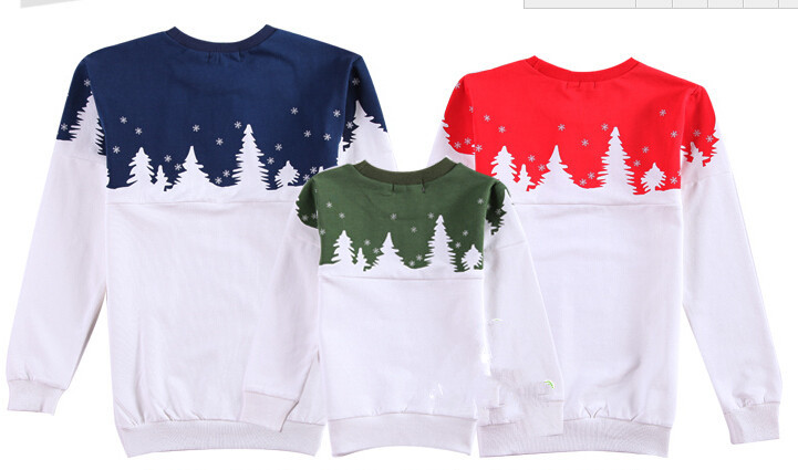 Free Shipping 2015 Family Christmas Cotton Warm Autumn Winter Mother Dad And Kids Long-Sleeve T-shirt Family Clothes Set  HTB1Xs0CJVXXXXbSXVXXq6xXFXXXr