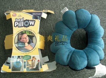 Total Pillow Amazing Versatile Neck Massage Plum Flower Pillow FREE SHIPPING