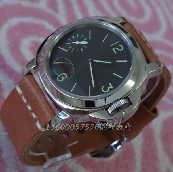 PARNIS sapphirine  ST3600 gooseneck core hand chain mechanical mens watch<br><br>Aliexpress