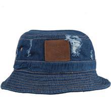 Denim Bucket Hat Cotton Unisex Cowboy Hats Angling Caps For Men Women Vintage Skull Black Blue Summer Sun Protection 2016