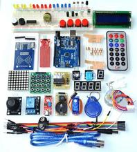 Upgraded Advanced Version Starter Kit the RFID learn Suite Kit LCD 1602 for Arduino UNO R3(China (Mainland))