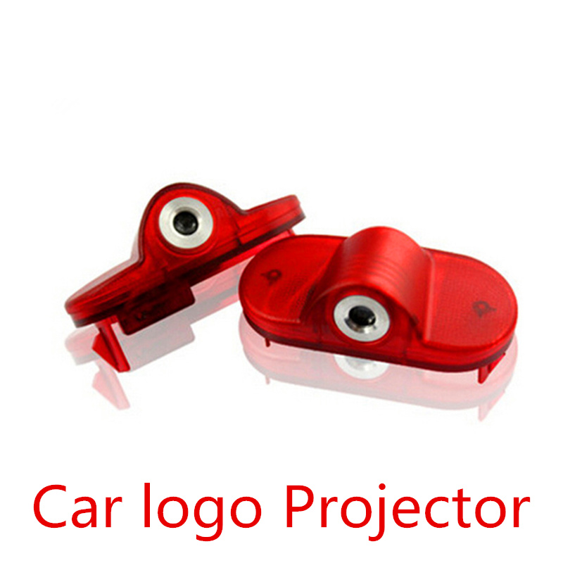 LED Door Warning Light With VW Logo Projector FOR Volkswagen VW golf 4 mk4 touran caddy mk4 bora Beatles(China (Mainland))