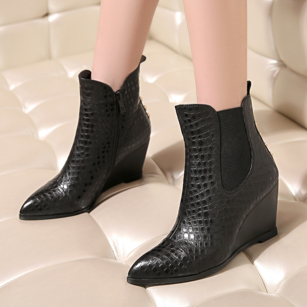 Здесь можно купить  Women New Ankle Boots Hot Brand Women