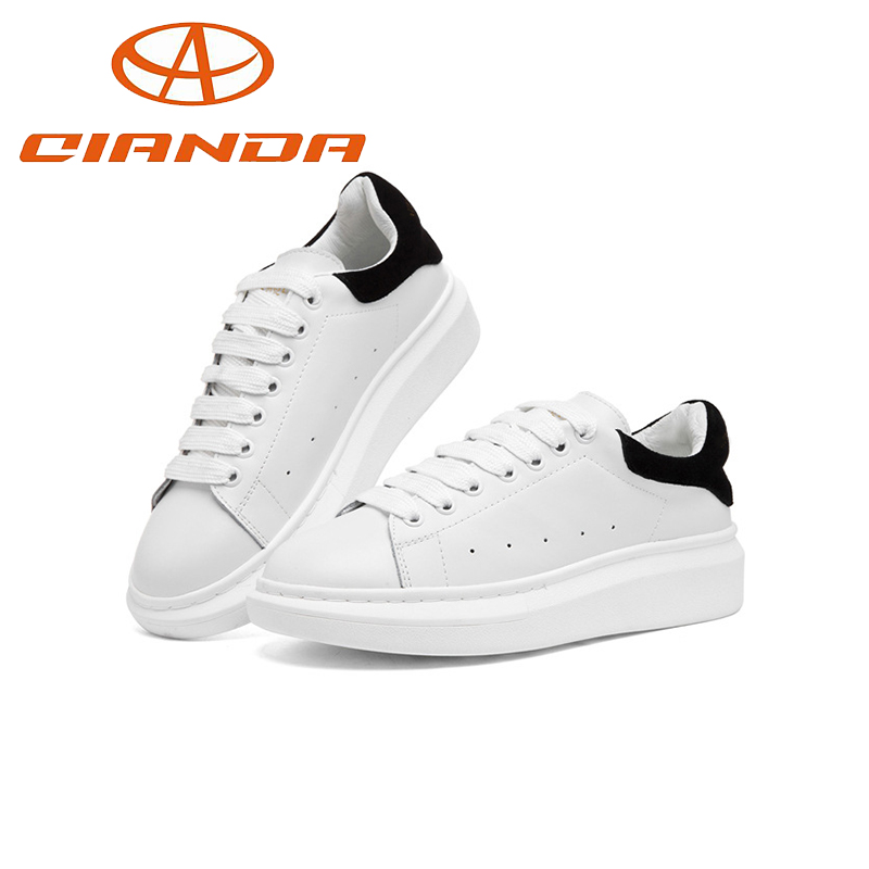 Women Casual Leather Summer Spring Best Shoes Girl 2016 New Styles Skateboard Shoes(China (Mainland))