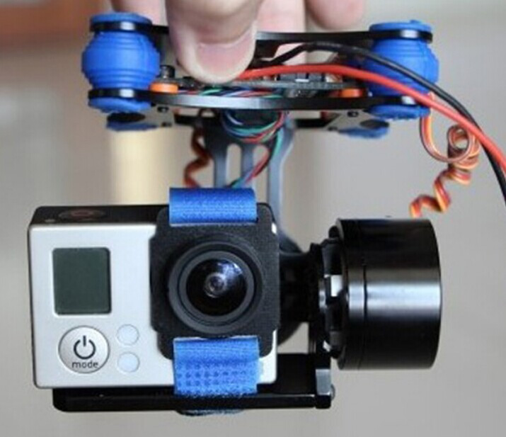 Lowest Price CNC FPV Quadcopter BGC 2 Axis Metal Brushless Gimbal Controller