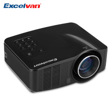 Excelvan LED3018 Portable LED WiFi Android Projector 640*480 AV/HDMI/USB/SD Home Theater For Gaming Education Meeting Projector(China (Mainland))
