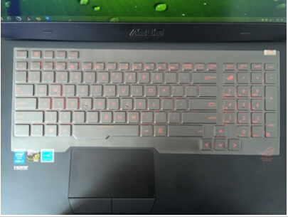 Waterproof and dustproof Transparent Tpu Keyboard Covers For ASUS G751 G751JY G751JT 17.3-inch