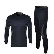 Autumn & Winter Slim Sport Military Outdoors Thermal Underwear Set Men's Army Training Tactical Outdoor Polartec Warm Long Johns()