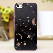 Constellations moon and stars Design transparent case cover cell mobile phone cases for Apple iphone 6 6plus hard shell