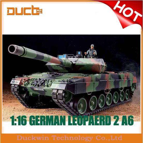 RC Zone New popular henglong 1:16 RC tank remote control toys panzer tank 3889 -1 German leopard tank with Smoke Sound(China (Mainland))