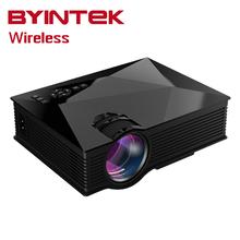 Bt460 uC60 Inteligente Airplay Miracast WIFI HD de Cine En Casa LCD Juego de Video LED Mini Proyector HDMI USB portátil Para El Iphone Android