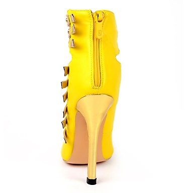 2015 women fashion yellow high heels shoes ladies shoes women sexy pumps black heels for dress sapatos feminino plus size RYA029