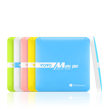 Voyo Mini PC Windows 8.1 2GB RAM 64GB ROM Intel Z3735F Quad Core Windows with bing Mini Computer with HDMI ultrathin Mini PCs