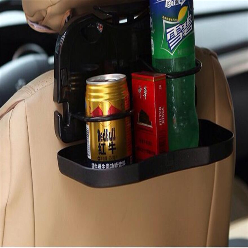 Foldable Auto Car Cup Holder Multi-function Black PP Material Drink Holder Handy Use Car Dining Table LZH(China (Mainland))