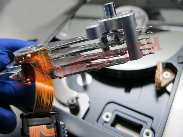 Hard disk drive repair kit